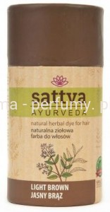 SATTVA - Henna Jasny Brąz - Light Brown - 150 g